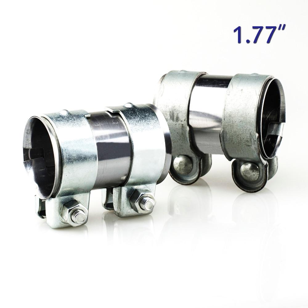 92mm Exhaust Silencer Mild Steel Clamps