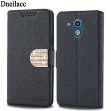 Luxury PU Leather Cover Case For HTC 326G 526 526G 526G+ 326 G Case Flip Protective Phone Back Cover Wholesale and Retail(China)
