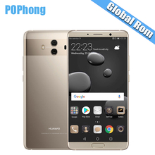 "International Rom Huawei Mate 10 Cell phones Android 8.0 3D Curved Glass 5.9""2560*1440P 4000mAh Fingerprint Octa Core 2.36GHZ H(China)"