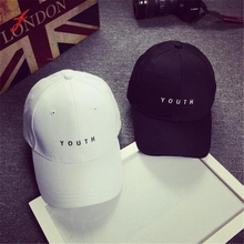 Feitong Fashion Cap Women Men Summer Cotton Caps Women Letter Solid Adult baseball Cap Black White Hat Snapback Women Cap 2017(China)