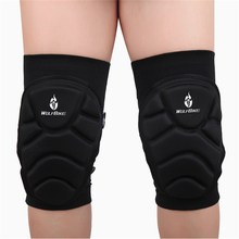 1 Pairs Sports Safety Football Volleyball Extreme Sports Knee Pad Eblow Brace Support Lap Protect Cycling Knee Protector(China)