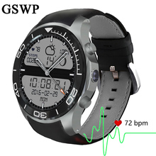 GSWP Q1 PLUS smart watch with Bluetooth GPS navigation fitness activity tracker heart rate monitor with 3g SIM WiFi waterproof(China)
