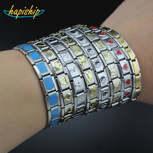 Hapiship 2017 Women Man Fashion Style Jewelry Heart Flower Butterfly Cross Dolphins 316L Stainless Steel Elastic Bracelet Bangle