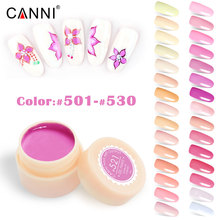 Free Shipping Nail Art Design Manicure Venalisa CANNI 141 Color 5ml Soak Off Gel color Polish LED UV Gel Nail pure color uv gel(China)