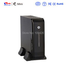 Realan Mini ITX Case E-3015 DIY Desktop PC Chassis with 120W Power Supply(China)