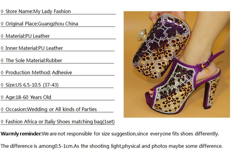Gold Bling Shining Shoes Woman High Heels Pumps To Match Bag Set ... 52855563b179