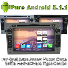 Pure Android 5.1 Car DVD Gray color for Opel Corsa (2006-2011) Zafira (2005-2011) Meriva 2006-2011 With Quad Core 2G ROM