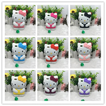 3D Cute Cartoon Hello kitty Glasses Silicone Soft Back Cover Phone Cases For Apple For ipod touch 4 4g T4