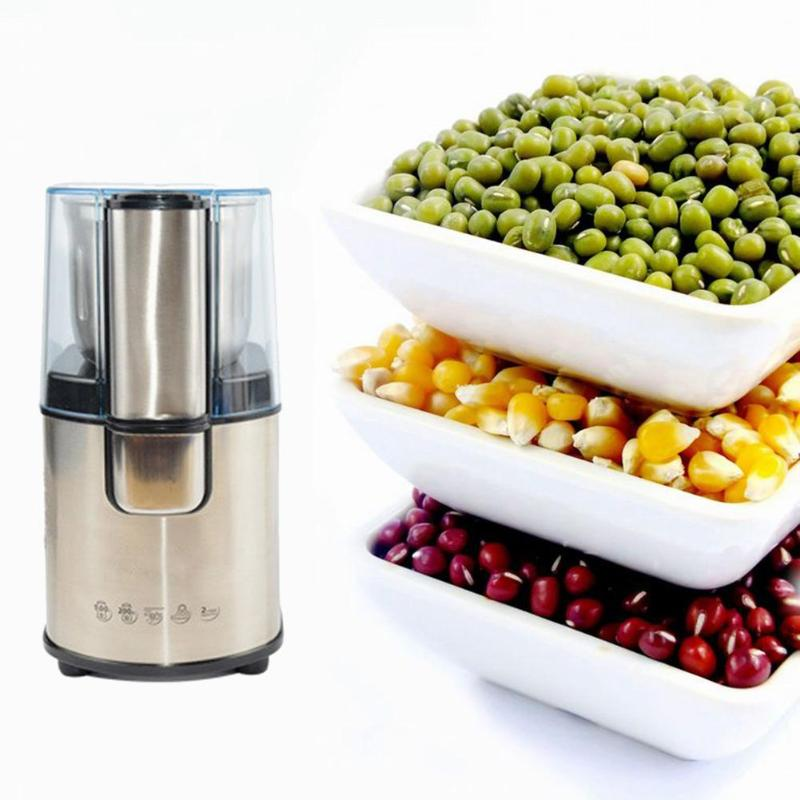 Waterproof Electric Coffee Grinder Bean Nuts Grinding Miller Kitchen Salt Pepper Mill Spice Seeds Coffee Bean Grinder Machine