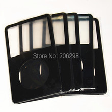 5pcs Front Faceplate Housing Cover for ipod 5th gen video 30GB 5.5th 60GB 80GB(Black)