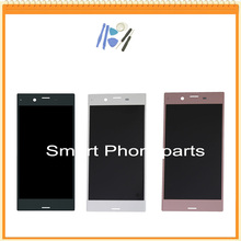 For Sony for Xperia XZ F8331 F8332 LCD Display with Touch Screen panel glass Digitizer Full Assembly black white pink(China)