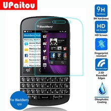 UPaitou For Rim BlackBerry Q10 Tempered Glass Screen Protector 2.5D 9H on Nevada SQN100-1 SQN100-3 SQN100-5 Lte