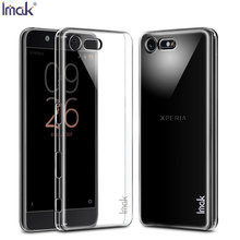 "Buy Imak Brand Case Sony Xperia X COMPACT Cover 4.6"" Top Original Ultra Thin Transparent Clear Crystal Skin Hard Shell for $4.22 in AliExpress store"