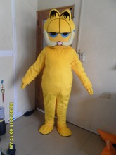 Garfield  mascot costumes adult size Halloween party fancy dress for sale custom made c001