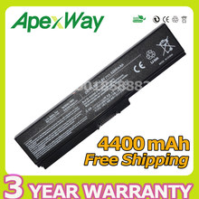 Apexway 4400mAh Laptop Battery For Toshiba PA3634U-1BAS PA3634U-1BRS PA3635U-1BAM PA3636U PA3638U for Satellite C660 C650 A665D(China)