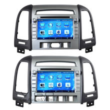 MTK3360 faster speed 512Mb RAM WINCE 6.0 car DVD player 1080P gps fit for Hyundai SANTA FE 2012  santafe radio bluetooth navi