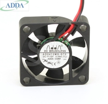 Original ADDA AD0412MS-G70 cooling Fans 4CM 4010 12V 0.08A best quiet silent cpu cooler heatsink axial cooler