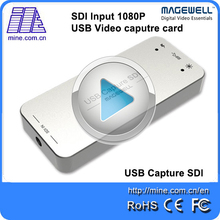 Magewell Brand New USB Capture SDI Capture Box, Free Driver One Channel SDI to USB Capture Dongle for Windows/Linux/Mac