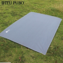 Tent Floor Saver Reinforced Multi-Purpose Tarp tent footprint camping beach picnic mat Waterproof Tarpaulin Bay WYQ(China)