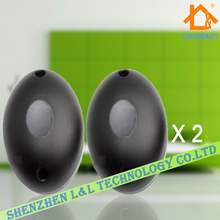 2pairs/lot Half Egg Shape Single Beam 20m Photoelectric Infrared Barrier Detector For Wired Home Alarm system(China)