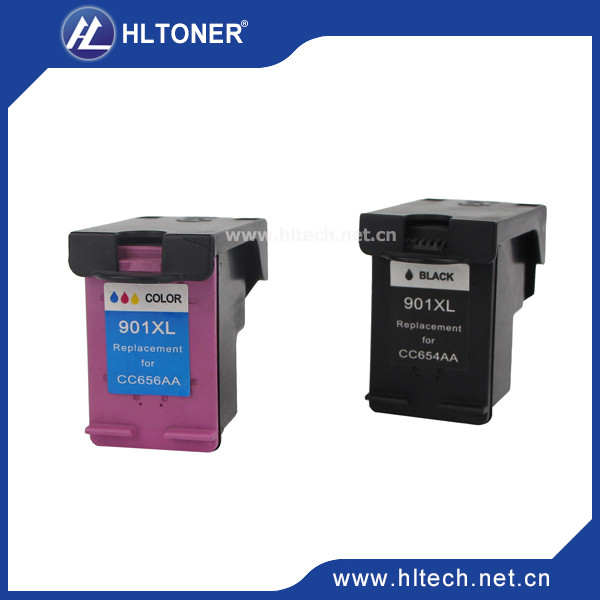 2pcs Compatible ink cartridge hp901XL hp901 for Officejet J4580 4540 4500 4560 4640 4680 4660 printers<br><br>Aliexpress