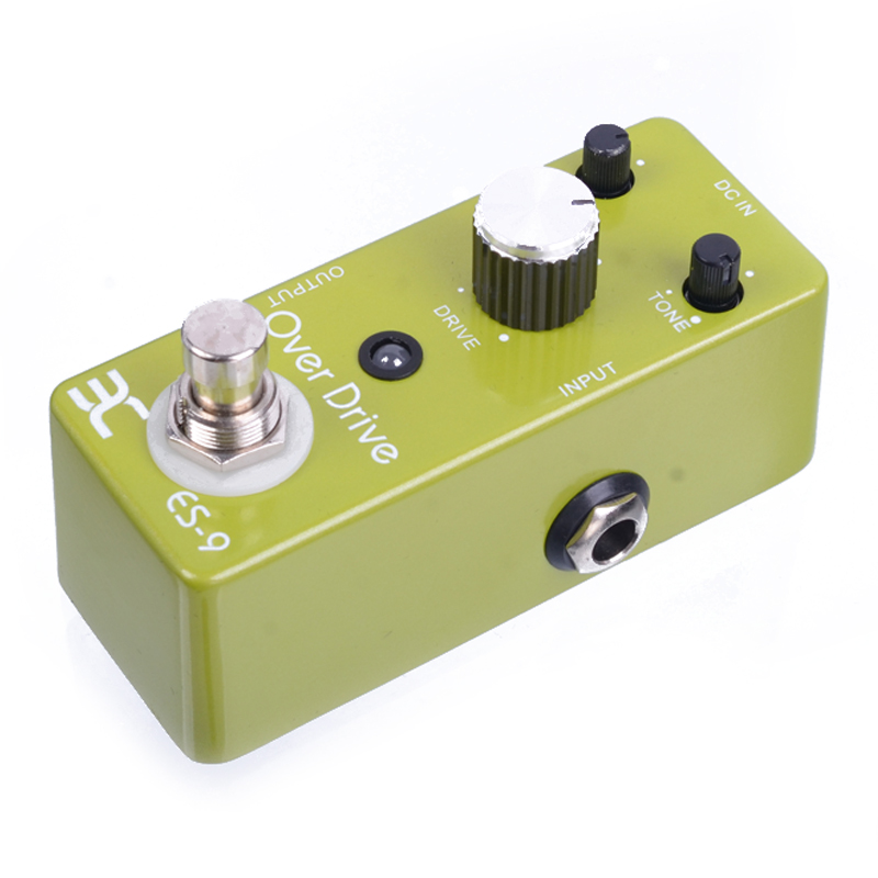 ENO EX TC-17 Full Metal Shell Classic Overdrive ES-9  Guitar Effect Pedal True Bypass<br>