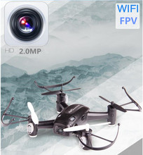 2017 New radio control RC Quadcopter toy RC111W 2.4G 6 Axis WIFI FPV RC Drone UFO Kit for IOS Android system with 2.0MP Camera(China)