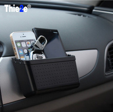 New Car Mini Storage Box Mobile Phone Holder Bluetooth Pylons Multi-use Tools Car Containers Pocket Organizer Auto Receive Bag