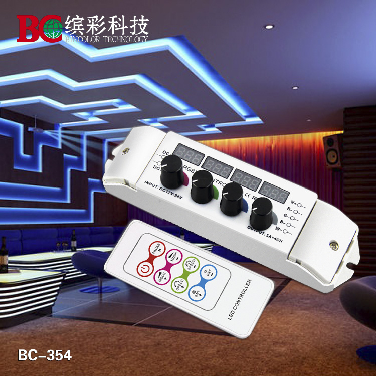 Zhuhai new technology multi function segment light display 4 channel RGBW LED controller<br><br>Aliexpress