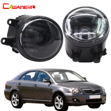 Cawanerl Car Styling Fog Light LED Daytime Running Lamp DRL White 12V  For Toyota Avensis T25 Combi (T25) Estate Saloon