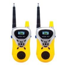 2Pcs Portable High Simulation Battery-opwered Walkie Talkie Two-Way Radio Walkie Talkies Early Development Toys Children