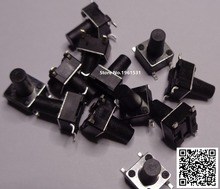6*6mm 6X6X5mm-13mm SMD Tactile Tact Mini Push Button Switch Micro Switch Momentary SMD-4 6X6X5/6/7/8/9/10/11/12/13mm 50PCS/lot