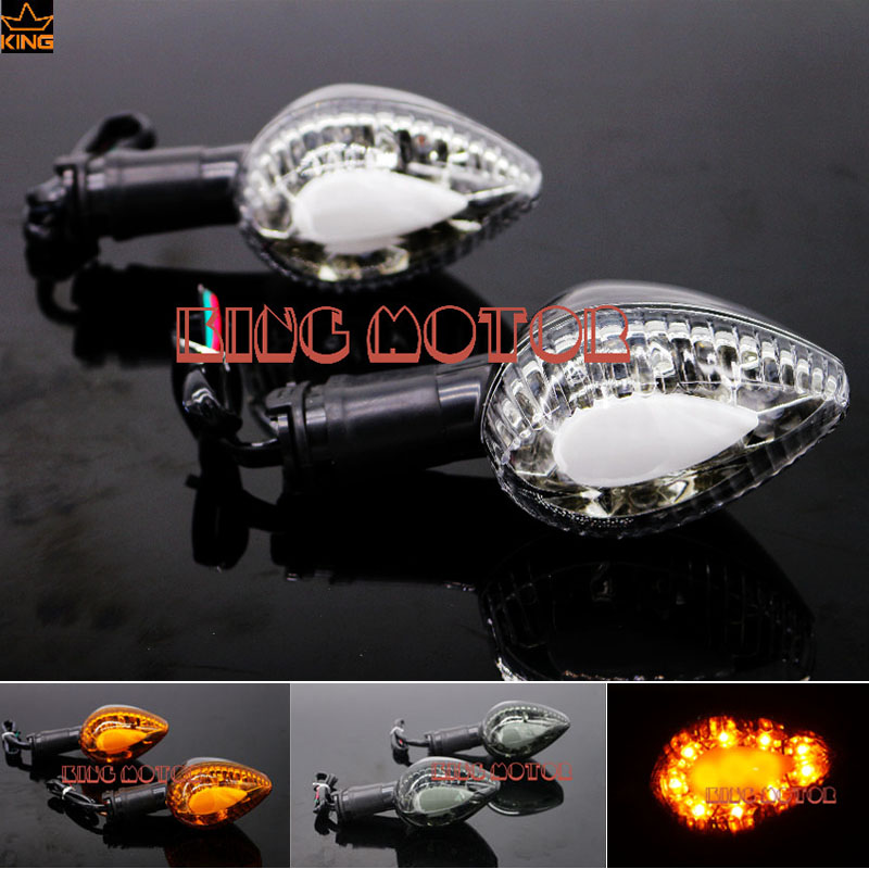 For YAMAHA YZF R1 YZF R6 Motorcycle Accessories Blinker LED Turn Signal Indicator Light Clear<br>
