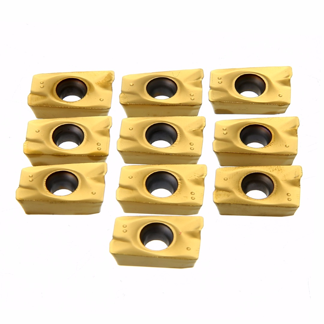 1pc BAP400R-50-22 4 Flute Face End Mill Alloy Milling Cutter + 10pcs Carbide Inserts + 1pc T15 Wrench