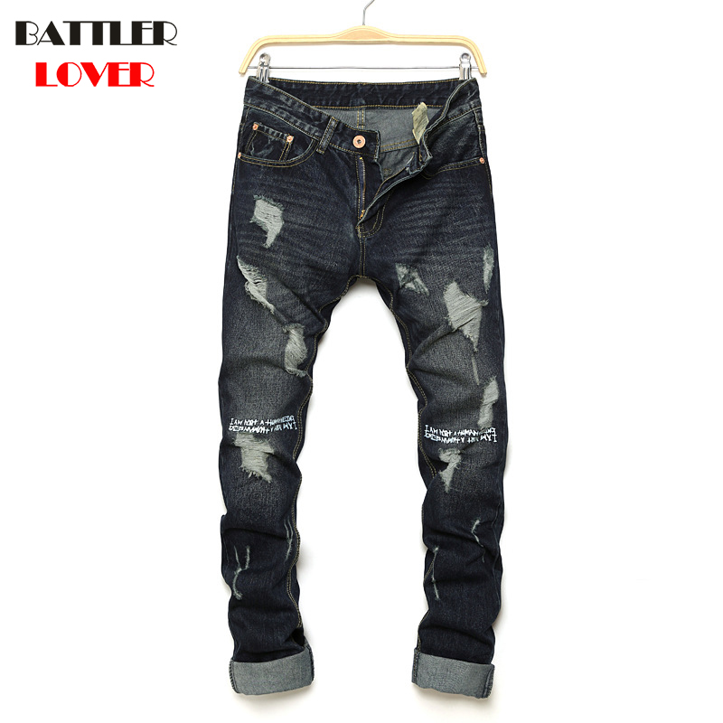 Luxury Brand Jeans Men Pants Fear of God Trousers Denim Male Motorcycle Pant Boost Biker Man Masculina Ripped Jogger Top Quality