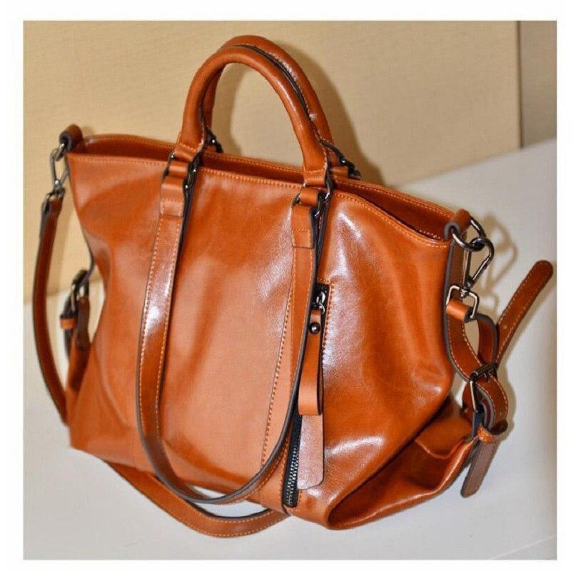 2017 new foreign trade leather shoulder bag retro fashion leather handbag Crossbody Bag  Vintage handbags Wholesale package<br>