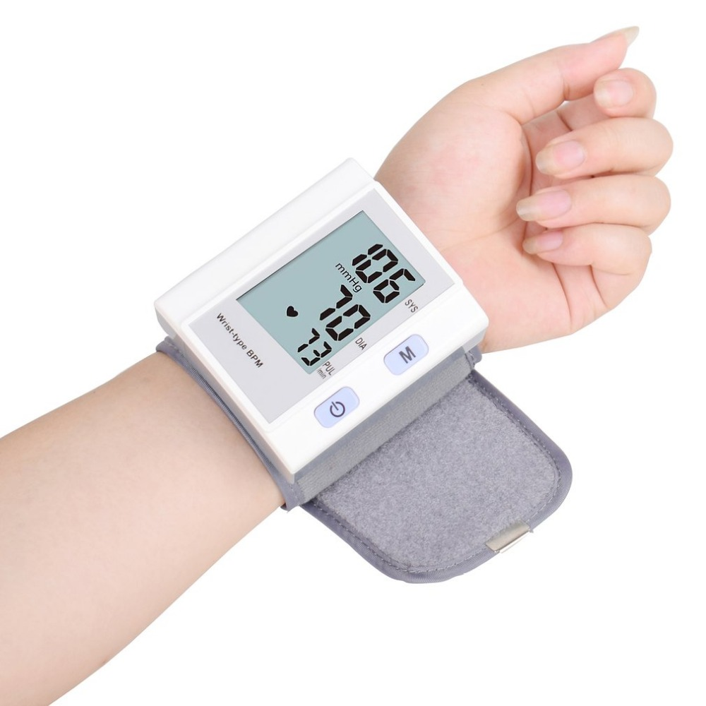 Blood Pressure Monitor Wrist Type Full-automatic Tonometer Meter Smart Digital Health Care Household Sphygmomanometer Healthy 10