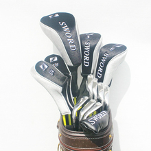 New Golf clubs SWORD complete clubs set Driver+3/5 fairway wood+irons+hybrid wood Graphite Golf shaft Headcover Free shipping(China)