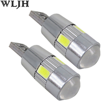 WLJH 2x Canbus Car LED T10 W5W No Error 5630 Chips For VW Golf 5 6 Polo Jetta Bora Passat 3C CC B7 Tiguan Eos AUDI BMW Benz
