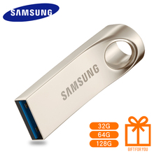 SAMSUNG USB FlashDriveDisk 16G 32G 64G 128G USB 3.0 BAR 150mb/s Metal Mini Drive Memory Stick Storage Device free shipping(China)