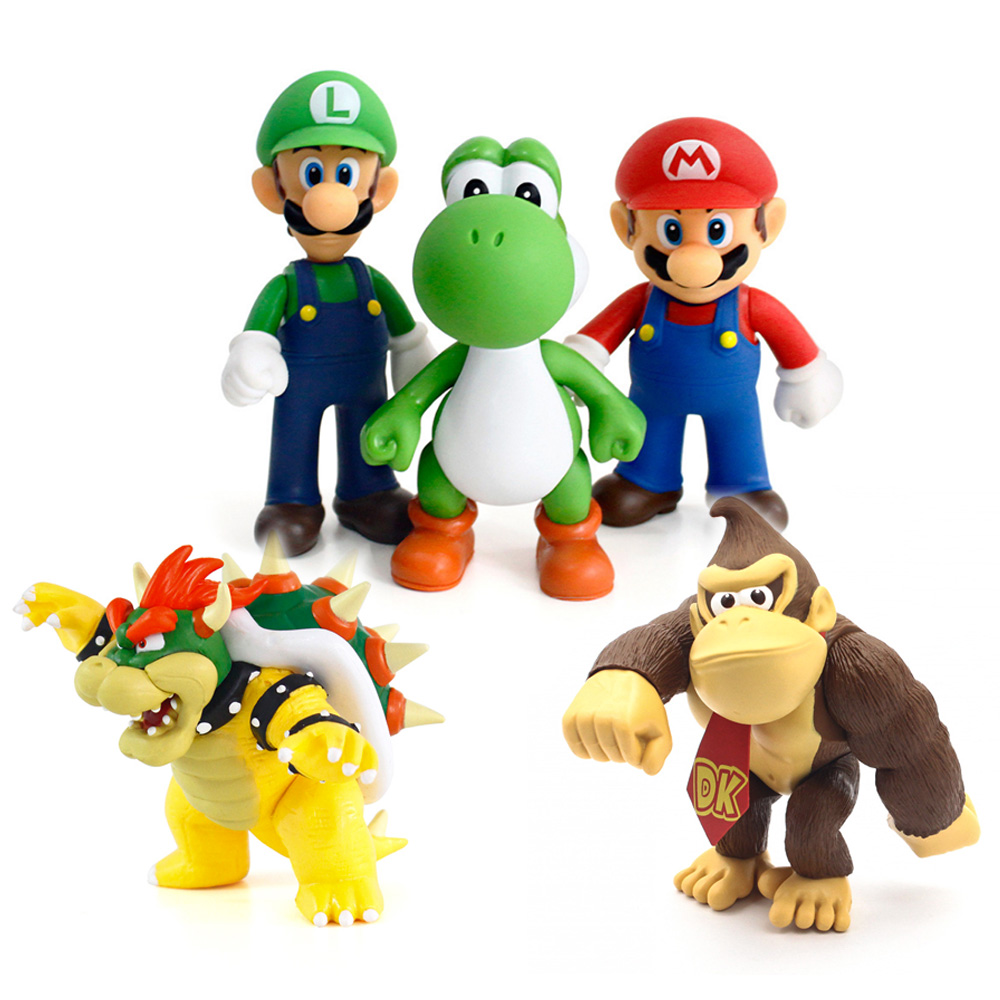 Donkey Kong Figure Toy 6/'/' Pvc Collectible Model Action Figure Toys For Kids