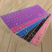 15.6inch Laptop Keyboard Cover For Dell XPS 15 15-9550 / for inspiron 14CR 14MR 14SR Silicone Keyboard Protector Notebook Film