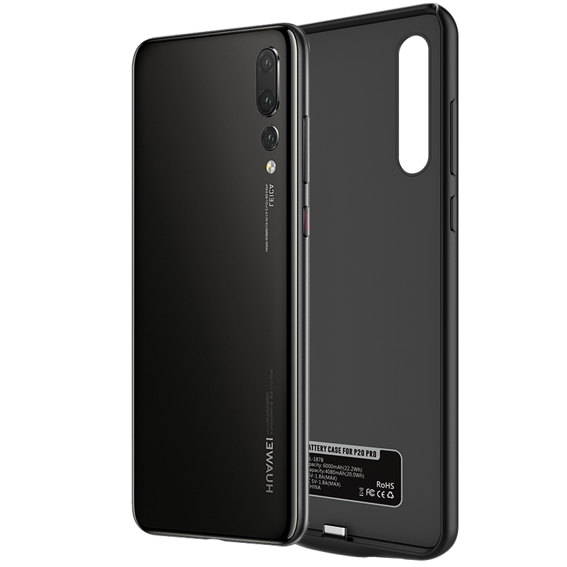 NEWDERY 2018NEW Battery Case For HUAWEI P20 P20Pro External Power bank Charger TPU
