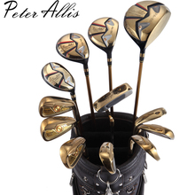 brand Peter Allis collections Titanium Alloy Rod of Driver Luxury golf clubs full set golf irons set golf graphite shafts(China)