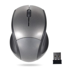 Computer PC Laptop Wireless Mouse Optical Cordless 2.4GHz Mice + USB Receiver Grey - Pamela digital Store store