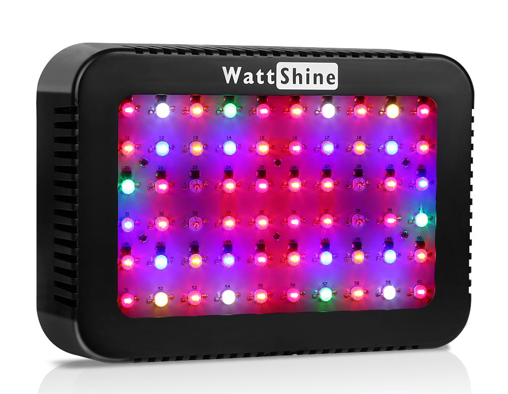 Double chips 300W led grow lights 16 kinds spectrum Flower indoor Lamp for plants Overseas warehours Fast deliver Veg Bloom (415)