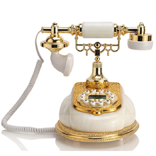 GBD-256 Antique fashion phone household vintage wired caller id telephone(China)
