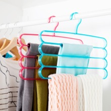 creative Multi-functional Multilayer Scarf Hangers Solid Adult child Clothes tree coat  shelf Belt racks Stand Organizer Home