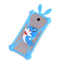 2017 Hot Fashion Luxury Universal Cartoon Silicone Phone Case For Prestigio Grace Q5 PSP5506 DUO Cover ,Stretchable ,21 Styles