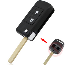 New Replacement 2 Button Smart Key Housing Folding Flip Remote Key Shell Case Fob Keyless Entry 2 BTN Car Key Cover For Subaru